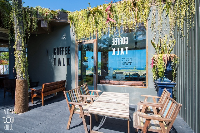 review coffee talk cafe by a day to chill