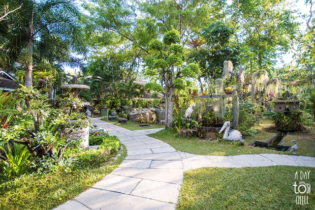 tropical garden by a day to chill, Karon Beach Phuket