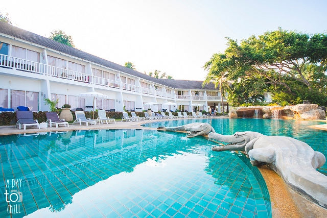 Crocodile Pool, Thavorn Palm Beach Resort