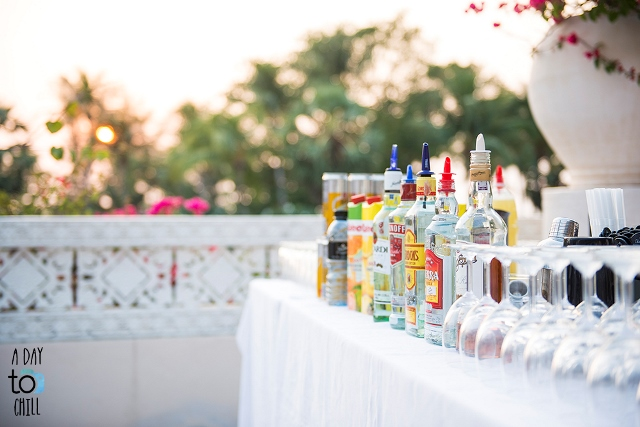 drinks for party at thavorn palm beach resort