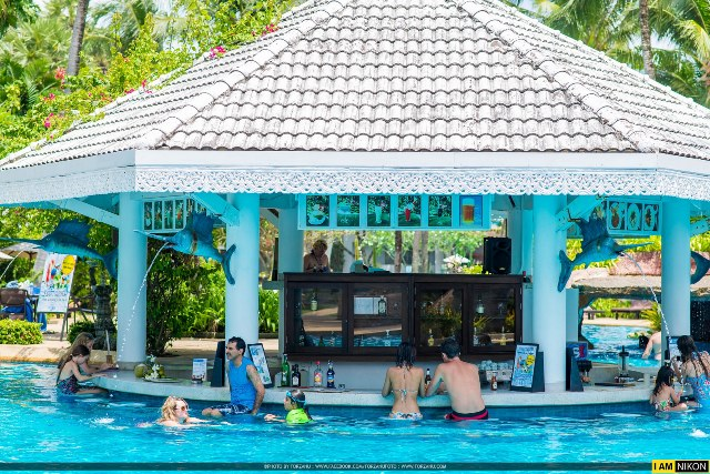 Pool Bar, Thavorn Palm Beach Resort