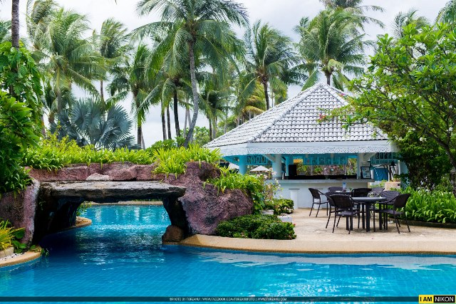 swimming Pool, Thavorn Palm Beach Resort, Phuket