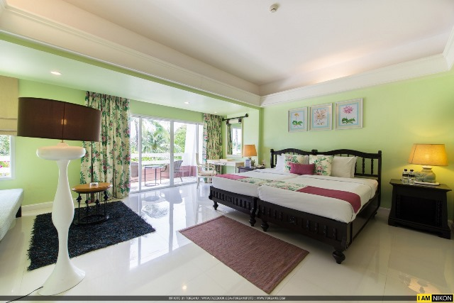 junior suite room, thavorn palm beach resort