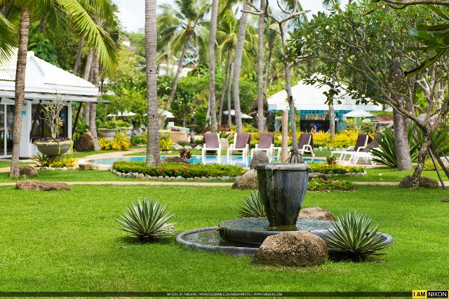small park in thavorn palm beach resort, Karon Phuket