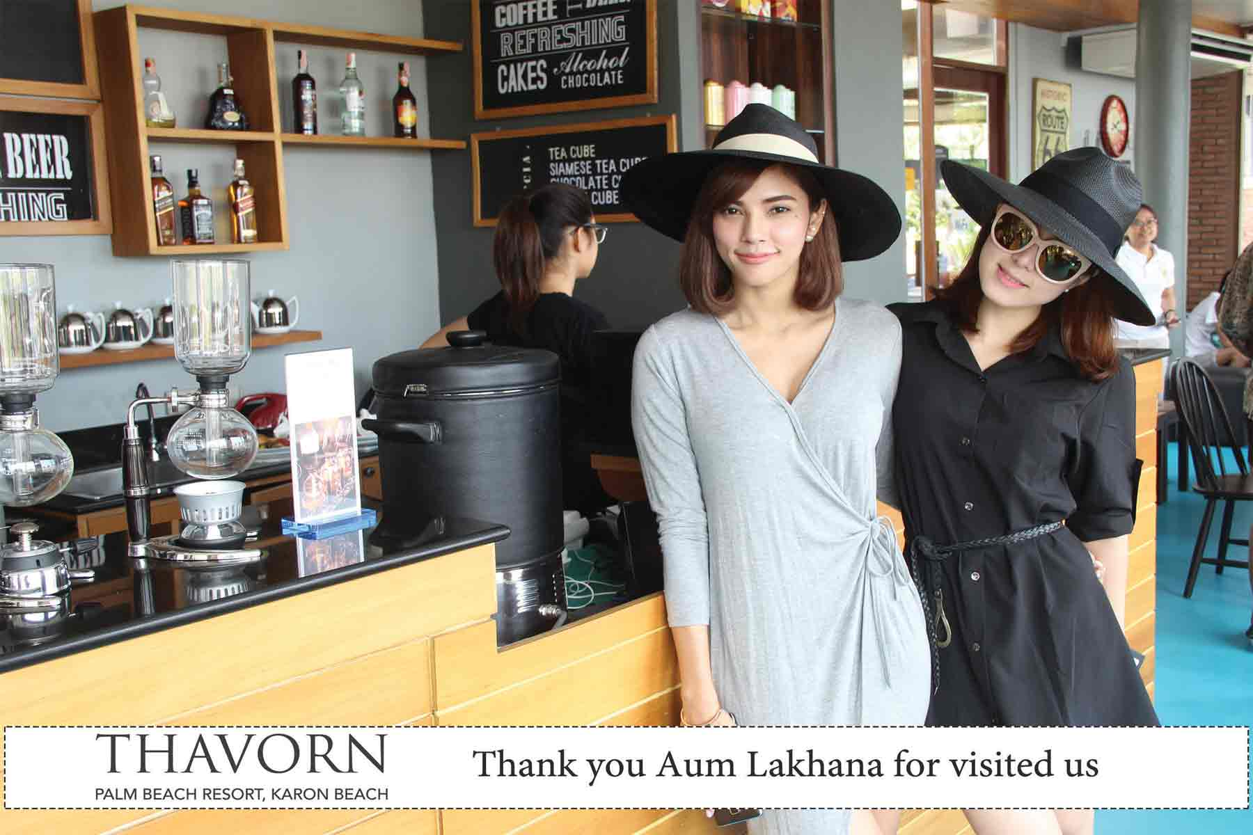 Celebrity Visits Resort Phuket : Aum Luckana