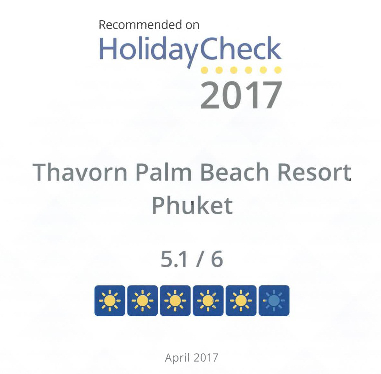 Recommended-on-HolidayCheck-2017