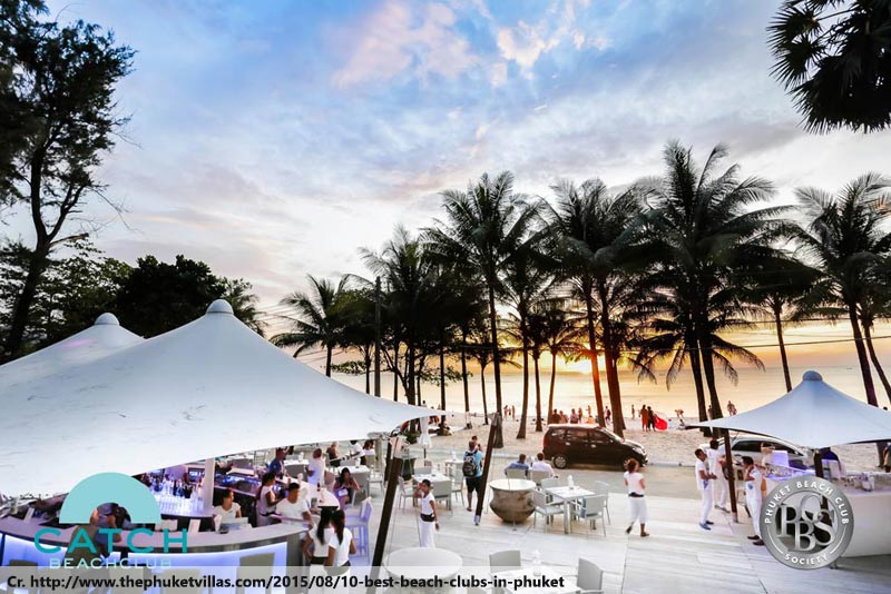 Beach Club in Phuket