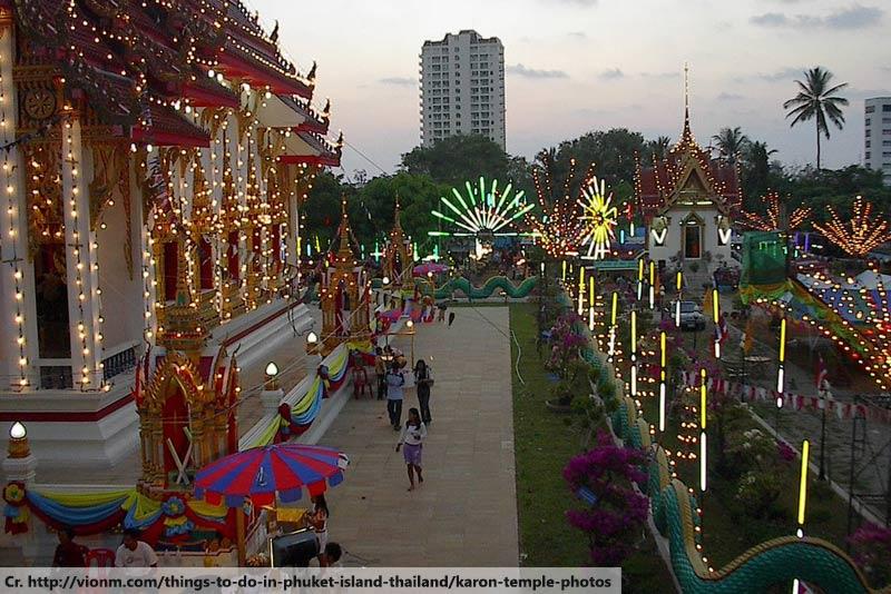 Karon Temple Market in Phuket