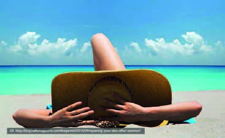 Phuket sunbathing