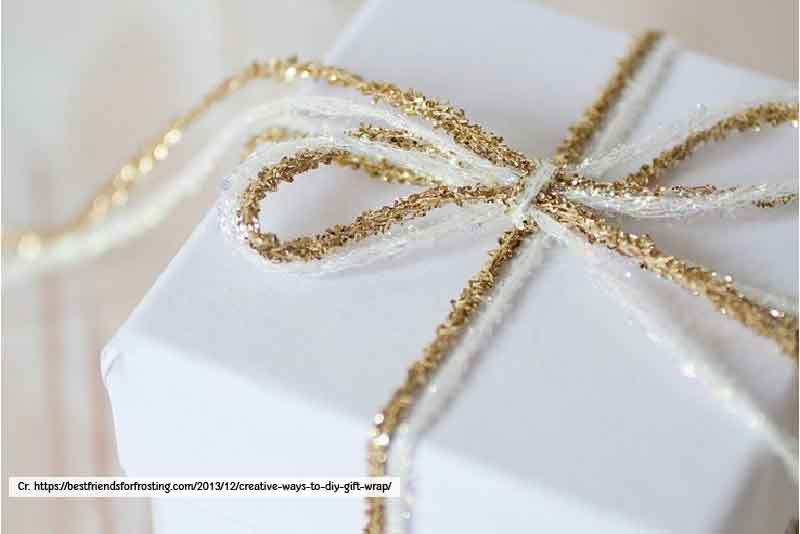 Plain Paper with Design Ribbon