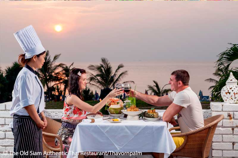 Thai Restaurant, Karon, Sunset,Food,Order