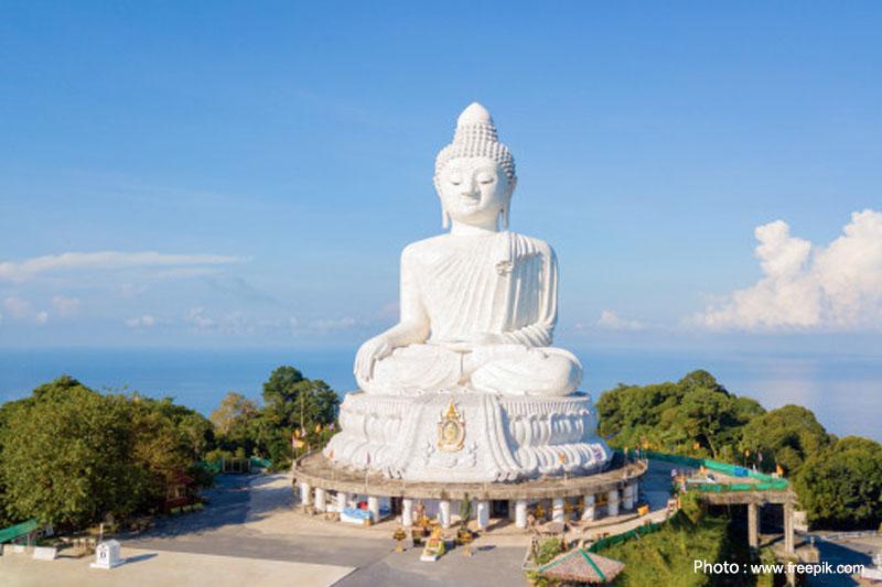 Wat Nakkerd, Big Buddha, Phuket. Faith. Thailand