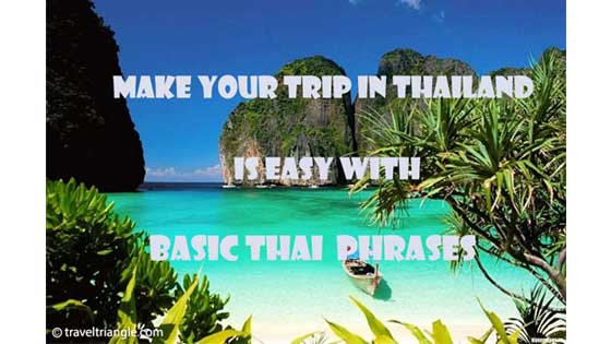 Travel in Thailand, Basic Thai Phrases