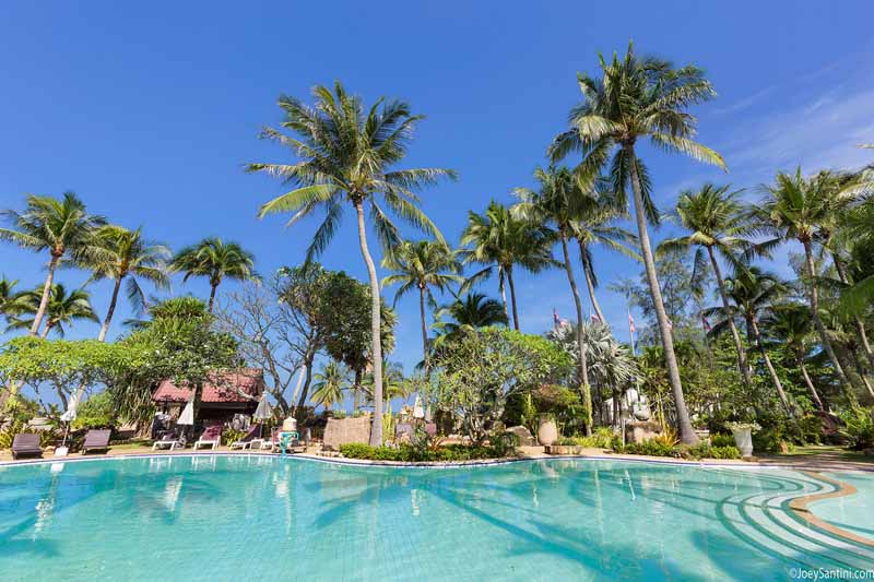 Swimming Pool, Sunshine day, Sunny day, Paradise Pool, Thavorn Plam Beach