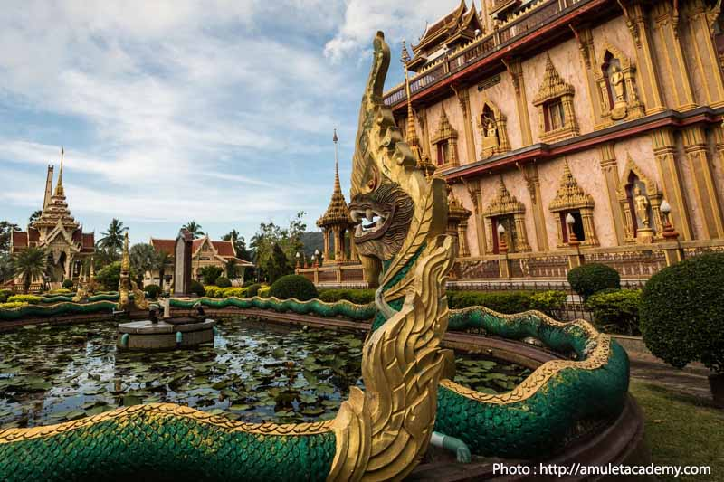 Wat Chalong, Phuket. Faith. Thailand