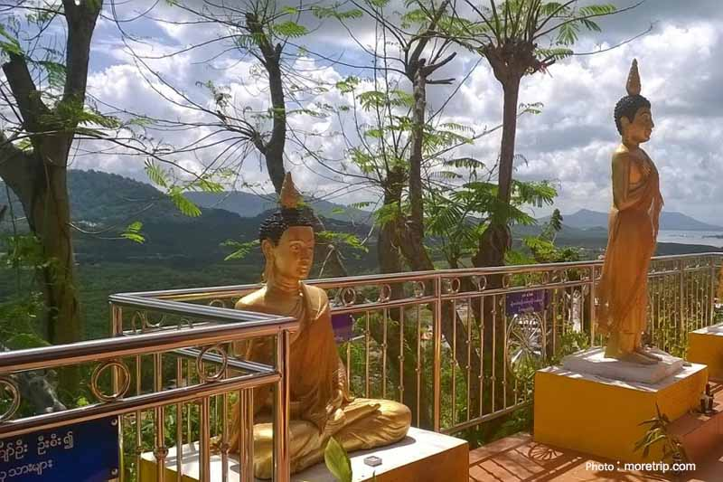 Koh Sirey Temple. Wat Koh Sirey, Phukt, Faith, Buddhist, Thailand